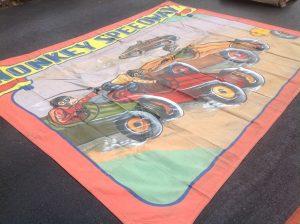 banner monkey speedway