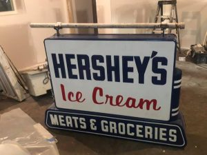 hershey sign double 2