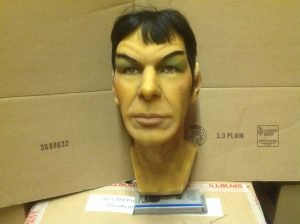 wax head spock