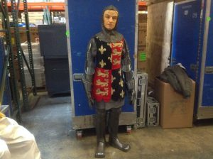 wax museum knight