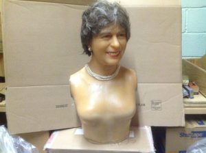 wax museum rip queen E II