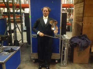 wax museum rip violinist