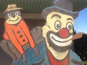 clown with monkey ny 1
