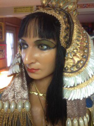 wax eyptian woman 1
