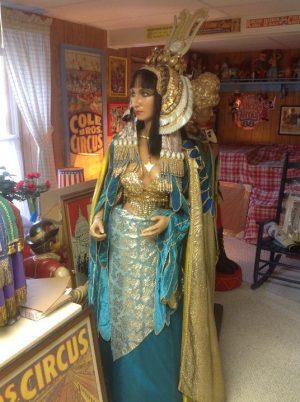 wax eyptian woman