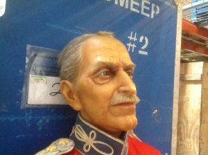wax museum rip king Christian x 3