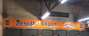 rexall Drug sign 44'