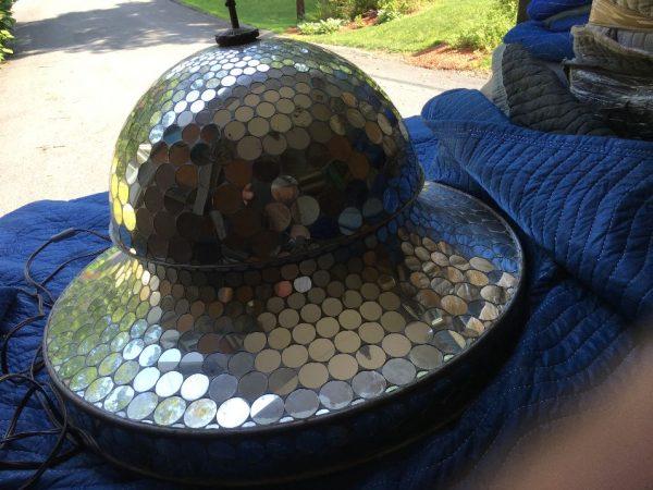 Art Deco Dance Hall Revolving Mirrored Ball Room Ball